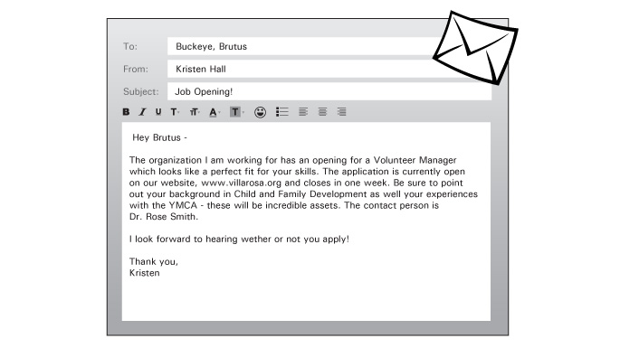 Image Of Brutuss Cover Letter Written As An Email